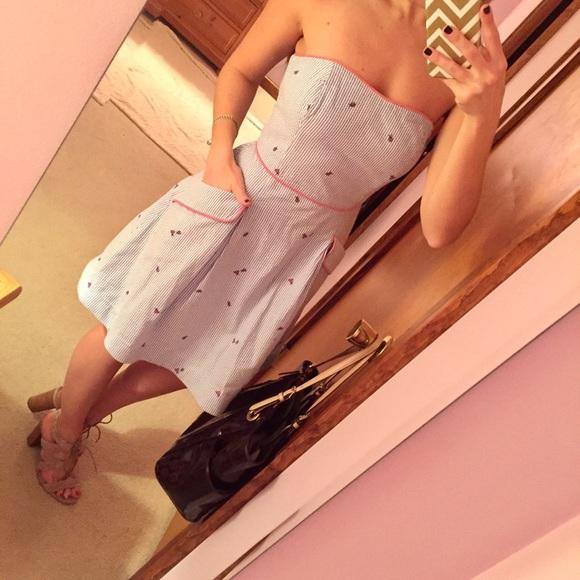 Lilly Pulitzer strapless ladybug dress